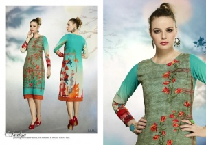 Ready at Store - Vogue Krishriyaa Fashions Branded Straight Cut Kurtis