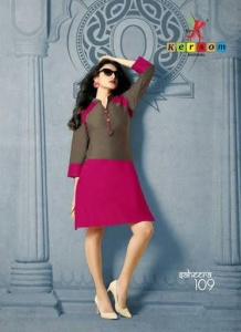 Ready at Store - Saheera Kersom Branded Knee Length Kurtis