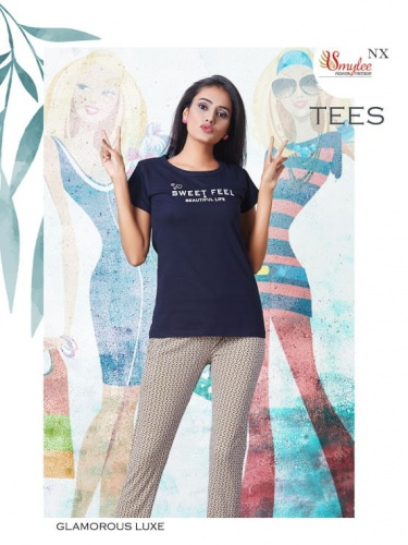 Ready at store - Tees Smylee Ladies Night Suits