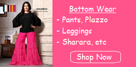 Ladies Bottom Wear Manufacturer Leggings Plazzo Pants Sharara