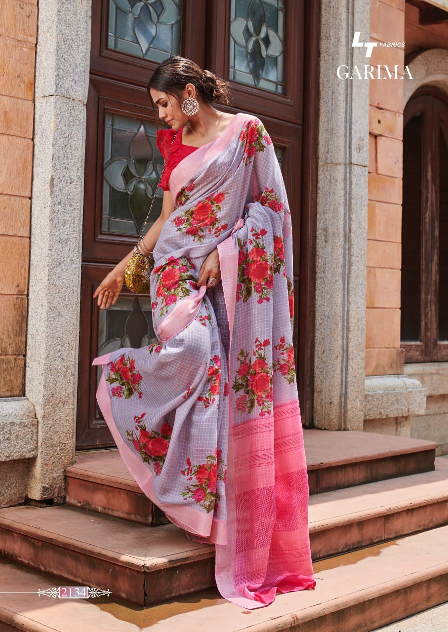 Buy Garima Lt Fabrics Sarees Catalog Online Wholesaler Lowest Price